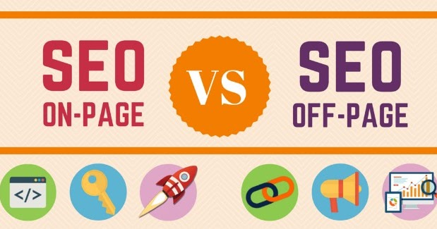 THE DIFFERENCE BETWEEN ON-SITE SEO AND OFF-SITE SEO