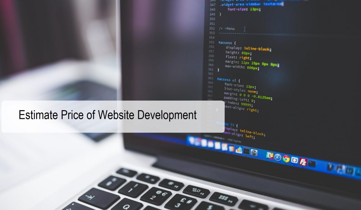 Estimate Price of Website Development