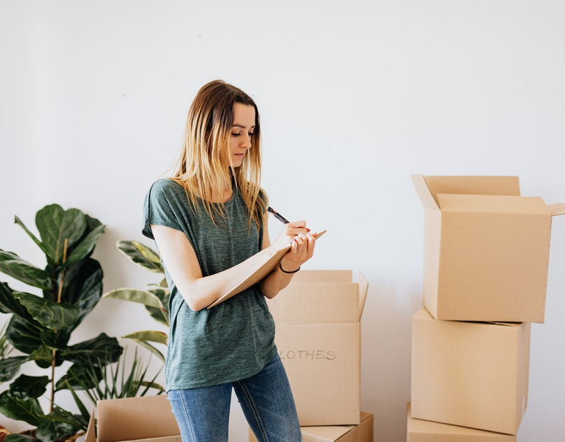 Packing and Moving Tips: Colour Coding for a Residential Move