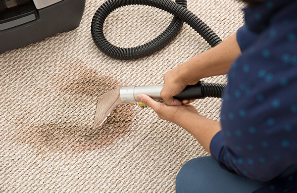 Carpet cleaning by a first-class carpet cleaning company